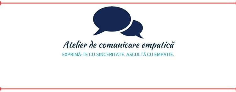 Atelier de comunicare empatică, 4 iulie 2016 cu Madi Mihalcea