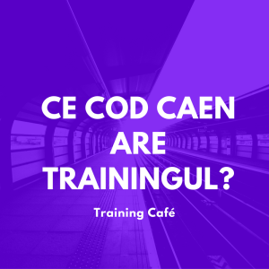 Cod CAEN training Training Cafe