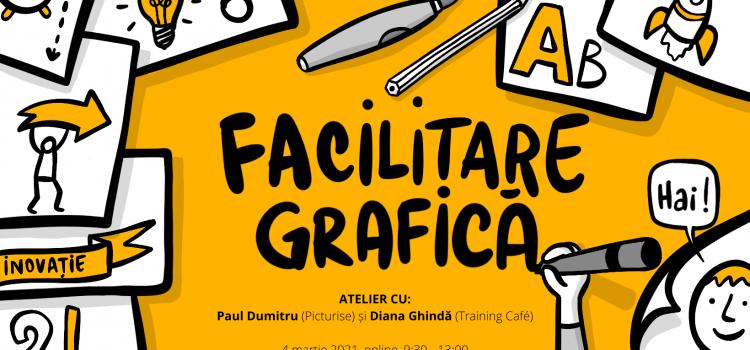 Atelier Facilitare grafică, 4 martie 2021 (09.30-13.00), online