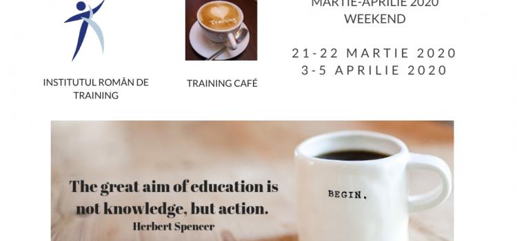 Train the Trainers martie-aprilie 2020 weekend
